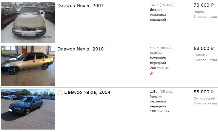 Daewoo Nexia