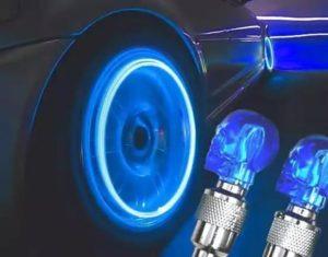 Led-колпачки для колес