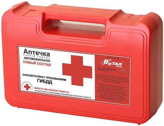 Приложение N1. Состав аптечки первой помощи (автомобильной)