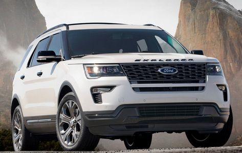 Ford Explorer 2018 ex