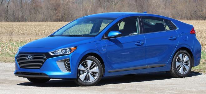 Hyundai Ionid Hybrid 2018
