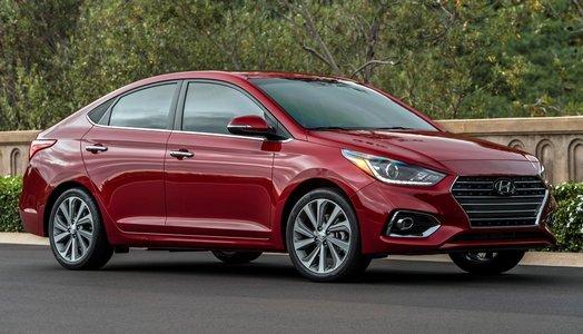 Hyundai Solaris 2019 compact