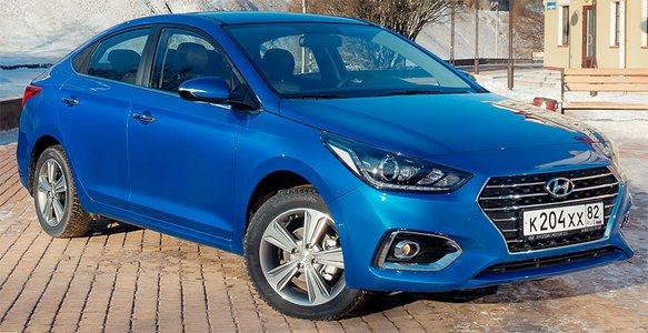 Hyundai Solaris 2019 outdoor