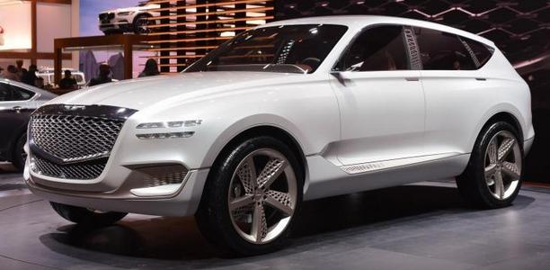 Genesis Gv80 от Hyundai новые снимки Automonth